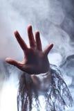 Main d'une sorcière Images libres de droits