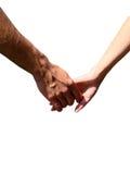 Main dans une main Photo libre de droits