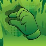 Main de bande dessinée de vecteur faisant des gestes un peu illustration libre de droits