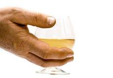 main de boissons Photographie stock