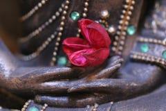 main de Bouddha Images libres de droits