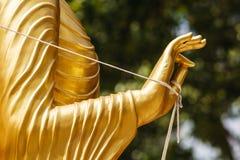 Main de Bouddha Photographie stock libre de droits