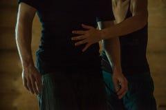 Main de danse image stock