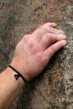 Main de groupe de grimpeur Photographie stock libre de droits