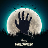 Main de Halloween illustration de vecteur
