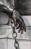 Main de la statue de Friedrich Wilhelm près du château Charlott Photos libres de droits