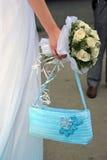 Main de mariée photographie stock libre de droits