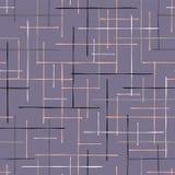 Main de modèle de Criss Cross Lavender Maze Vector illustration de vecteur