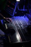 Main de soundman Images stock