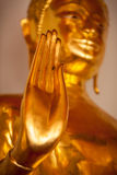 Main de statue de Bouddha, Thaïlande photographie stock libre de droits