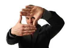 main de trame Image libre de droits