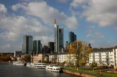 Main di Francoforte, Germania Fotografie Stock Libere da Diritti