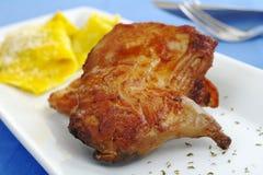 Main Dish: Guinea Pig, Ravioli Stock Image