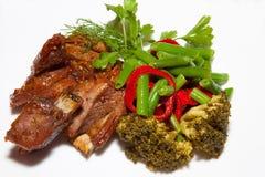 Main dishes Stock Image