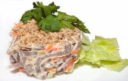 Main dishes Royalty Free Stock Photo