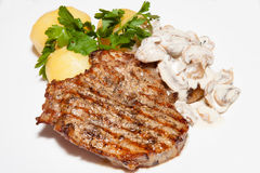 Main dishes Royalty Free Stock Images