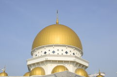 Main dome of Klang Royal Town Mosque a.k.a Masjid Bandar Diraja Klang Royalty Free Stock Image