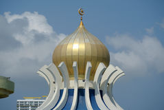 Main Dome of Penang State Mosque in Penang Royalty Free Stock Photos