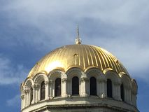 Main dome of Sofia cathdral Royalty Free Stock Image