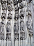 Main door, Cologne Cathedral, Detail Royalty Free Stock Image