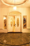 Main door entrance. Shot of a main door entrance of a house royalty free stock images