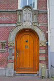 Main Door Entrance to The Begijnhof in Amsterdam, The Netherlands Stock Photo