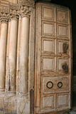 Main door of the Holy Sepulchre Royalty Free Stock Images