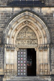 Main Door Of The Cathedral Stock Photography