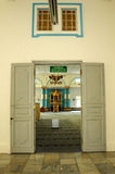 Main door of The Sultan Ibrahim Jamek Mosque Stock Photos