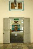 Main door of The Sultan Ibrahim Jamek Mosque Stock Photos