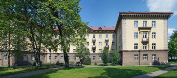 The main dormitory of Medical Faculty Stock Photos