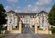 Main Entrance of Augustusburg Palace Stock Image