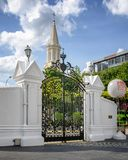 Main Entrance of CHIJMES in Singapore royalty free stock photography