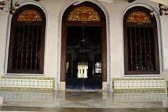 Main entrance door of Kampung Kling Mosque at Malacca, Malaysia Stock Photography