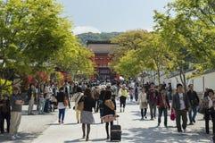 Main entrance at Fushimi Inari Shrine Royalty Free Stock Images