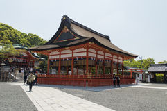 Main entrance at Fushimi Inari Shrine Stock Photography