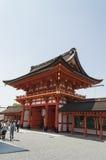 Main entrance at Fushimi Inari Shrine Stock Photography