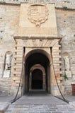 Main entrance gate of Dalt Vila, Ibiza Royalty Free Stock Image