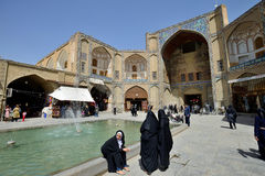Free Main Entrance In To Market In Isfahan, Iran Royalty Free Stock Images - 53914869