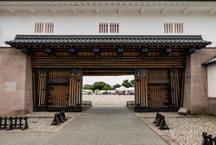 Main entrance of Kanazawa castle Royalty Free Stock Photography