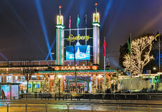 Main entrance of Liseberg park in Gothenburg Stock Image