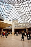 Main entrance of the Louvre Museum 4 Stock Photography