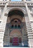 Main entrance in marseille Cathedral de la Major Stock Image