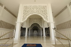Main Entrance of Masjid Sultan Ismail in Chendering, Terengganu Stock Images
