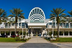 Main entrance of Orlando Convention Center at International Drive area 1