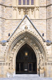 Main Entrance of Parliament Building, Ottawa Stock Image