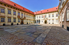 Main entrance patio in Brno New Royalty Free Stock Images