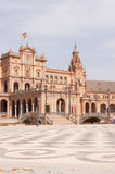 Main entrance of Plaza de Espana in Seville Royalty Free Stock Photography