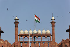 Main entrance of the Red Fort, Delhi, India. Royalty Free Stock Images