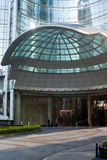 Main entrance of Sofitel Hotel Royalty Free Stock Images